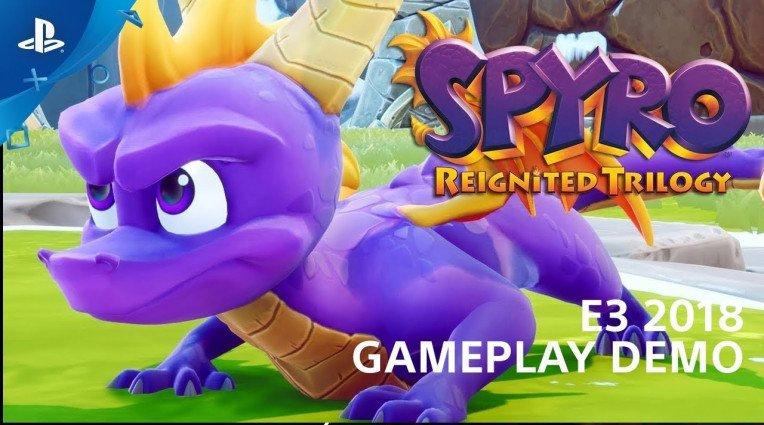 E3 2018: Gameplay demo για το Spyro Reignited Trilogy