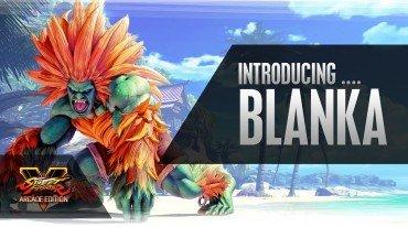 O Blanka ηλεκτρίζει τους πάντες στο Street Fighter V: Arcade Edition
