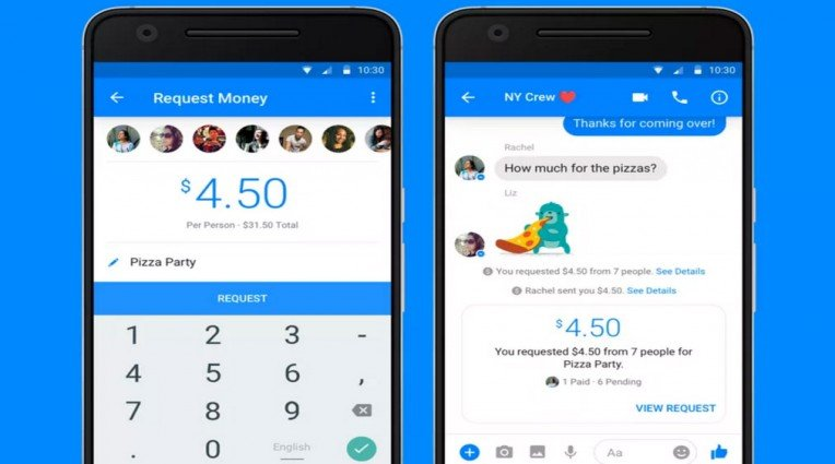 Facebook Messenger - Υποστήριξη πληρωμών ανάμεσα σε φίλους
