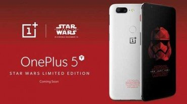 Ανακοινώθηκε το OnePlus 5T Star Wars Limited Edition