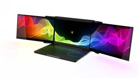 Project Valerie, Razer, Razer Project Valerie, Razer Project Valerie three monitor laptop, Razer Project Valerie τριών οθόνων λαπτοπ
