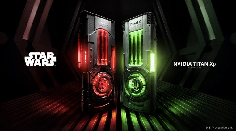Titan XP με άρωμα Star Wars από την Nvidia