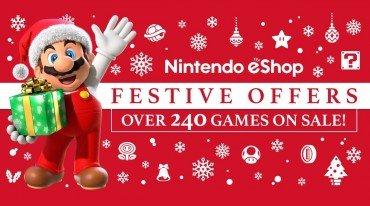 Χριστουγεννιάτικες προσφορές στο Nintendo eShop
