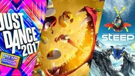Ubisoft, Just Dance 2017, Rayman Legends: Definitive Edition, Steep, Ubisoft Switch