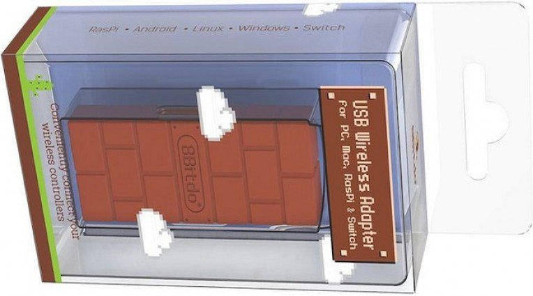 To ασύρματο adapter της 8Bitdo επιτρέπει τη σύνδεση DualShock 4 στο Switch