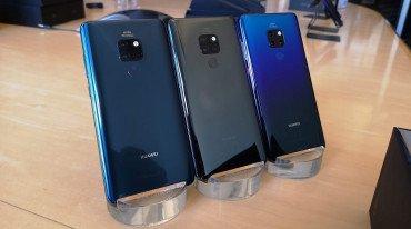 Η Huawei αποκάλυψε τα Mate 20 Pro και Mate 20