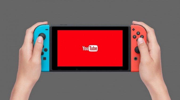 Φημολογία για YouTube app στο Nintendo Switch