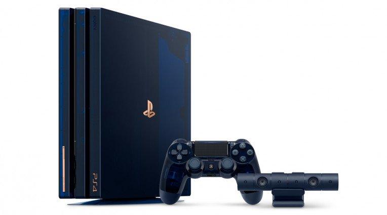 Η Sony ανακοίνωσε συλλεκτικό PS4 Pro για τα 500 εκ. πωλήσεις hardware