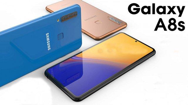 Η Samsung παρουσίασε το Galaxy A8s με οπή για κάμερα στην οθόνη