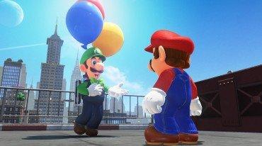 Mini game με πρωταγωνιστή τον Luigi στο Super Mario Odyssey