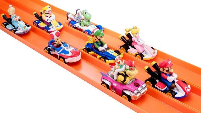 Παρουσιάστηκαν τα Mario Kart Hot Wheels