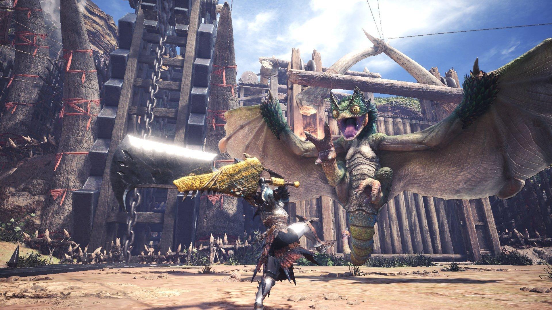 2936519548 Η Capcom ανακοίνωσε μέσα από καινούριο δελτίο τύπου ότι το Monster Hunter   World ξεπέρασε τα 6 εκατομμύρια αντίτυπα.