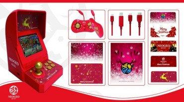 Ανακοινώθηκε το Neo Geo mini Christmas Edition