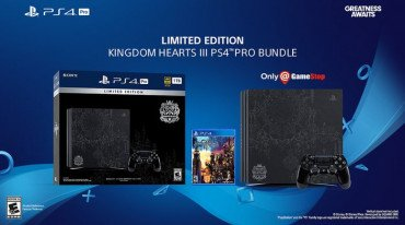 Νέο limited edition PS4 Pro bundle με Kingdom Hearts III
