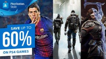Νέο εκπτωτικό κύμα στο PlayStation Store