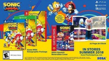 Ανακοινώθηκε το Sonic Mania Plus