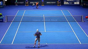 Χωρίς online multiplayer το launch του Tennis World Tour