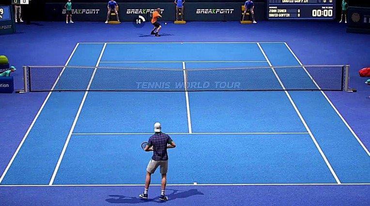 Χωρίς online multiplayer το launch του Tennis World Tour