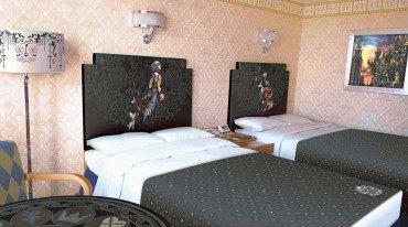 Δωμάτια ξενοδοχείου με θέμα το Kingdom Hearts στην Ιαπωνία