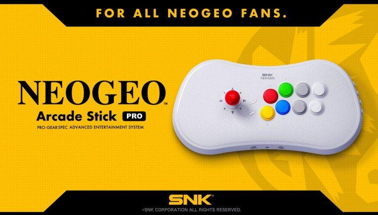 Ανακοινώθηκαν τα προ-εγκατεστημένα παιχνίδια του NEOGEO Arcade Stick Pro