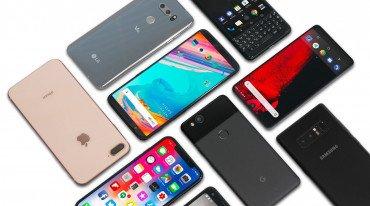 5 εταιρείες κυριάρχησαν στην ελληνική αγορά των smartphones το 2018