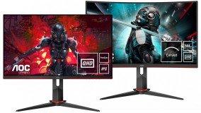 Δύο νέα gaming monitors 27'' από την AOC