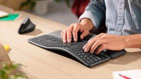 Η Logitech παρουσίασε το εργονομικό Logitech Ergo K860 keyboard (video)