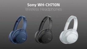 WH-CH710N: Αυτά είναι τα νέα noise-cancelling ακουστικά από τη Sony