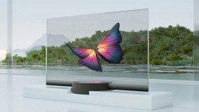 Η Xiaomi παρουσίασε διάφανη τηλεόραση