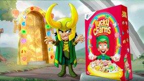 Loki Charms: O Loki απέκτησε τα δικά του δημητριακά! (video)
