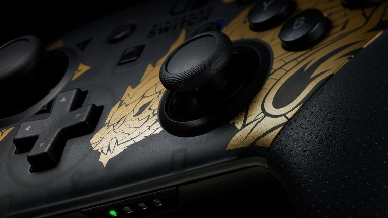 Monster Hunter Rise Nintendo Switch Pro Controller 03 764 430