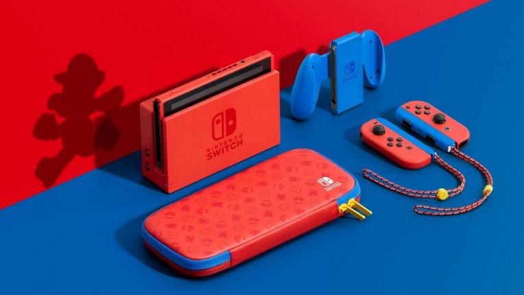 Μερικές ακόμη φωτογραφίες από το νέο Mario-Themed Special Edition Nintendo Switch