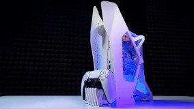 PC modder έφτιαξε το πρώτο custom PS5 με υδρόψυξη (trailer)