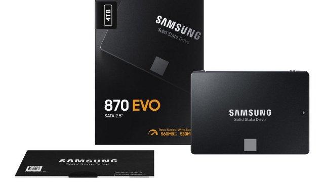 Samsung 870 Evo SSD: Έρχεται με χαμηλότερη τιμή και μεγαλύτερες ταχύτητες