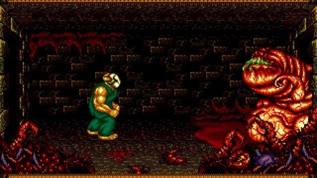 Console Hunter: Splatter House 2, SEGA Mega Drive