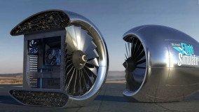 Microsoft Flight Simulator: To Xbox χαρίζει PC σε case κινητήρα αεροπλάνου
