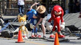 Πρώτη φωτογραφία των Tails και Knuckles στην ταινία Sonic the Hedgehog 2